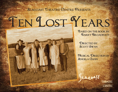 Ten Lost Years Postcard front 2012